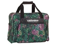 Floral Sewing Machine Carrying Case - Carry Tote/Bag Univers