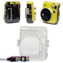 For Fujifilm Instax Mini 70 Camera Carrying Crystal Clear Ha