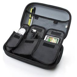 USA GEAR Multitrack Recorder Carrying Storage Case Hard Shel