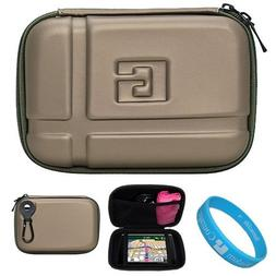 Gun Metal Durable 5.2-inch Protective GPS Carrying Case with