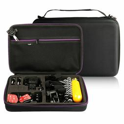 Hard Carrying Case for GoPro Hero 6/5/4/3+/3/2/1 Camera and