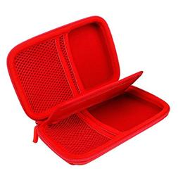 Hard Drive Organizer, Portable Carrying Case Built-in Buffer