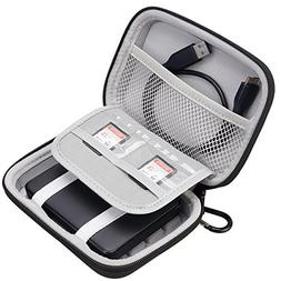 Lacdo Hard Shockproof Carrying Case for Toshiba Canvio Basic