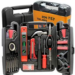 Home Garage Mechanic 131-Pc Tool Set Carrying Case NEW Shrin