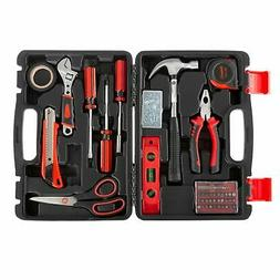 Home Repair Kit Carry Case Hang Pictures Portable Tool Utili
