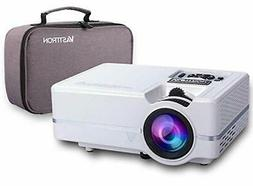 Vasttron Home Video Projector with Carrying Case and Tripod,