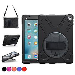 iPad Pro 9.7 Case, TSQ Heavy Duty Rugged Protective Hard Sho