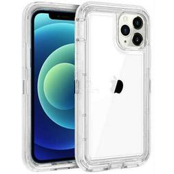 For iPhone 12 PRO MAX 12 Mini Clear Transparent Hybrid Case