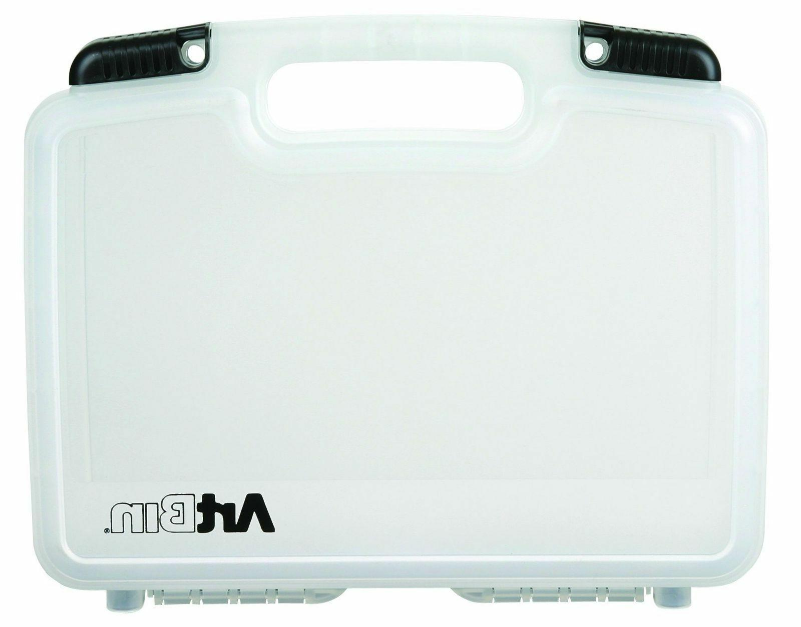ArtBin Deep Base Carrying Case, Translucent Clear