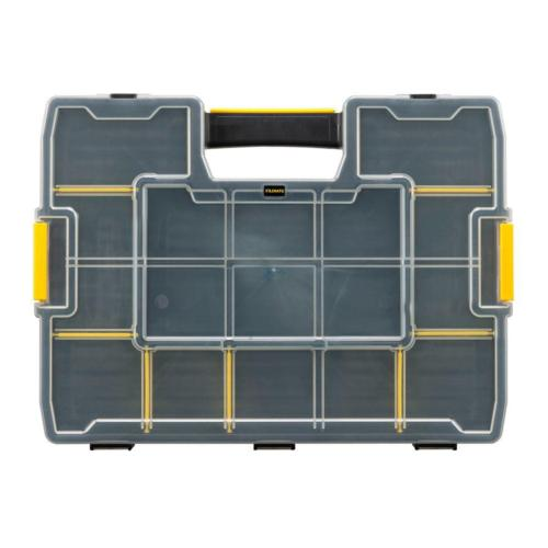 15-Compartment Small Parts Organizer Adjustable Tool Storage