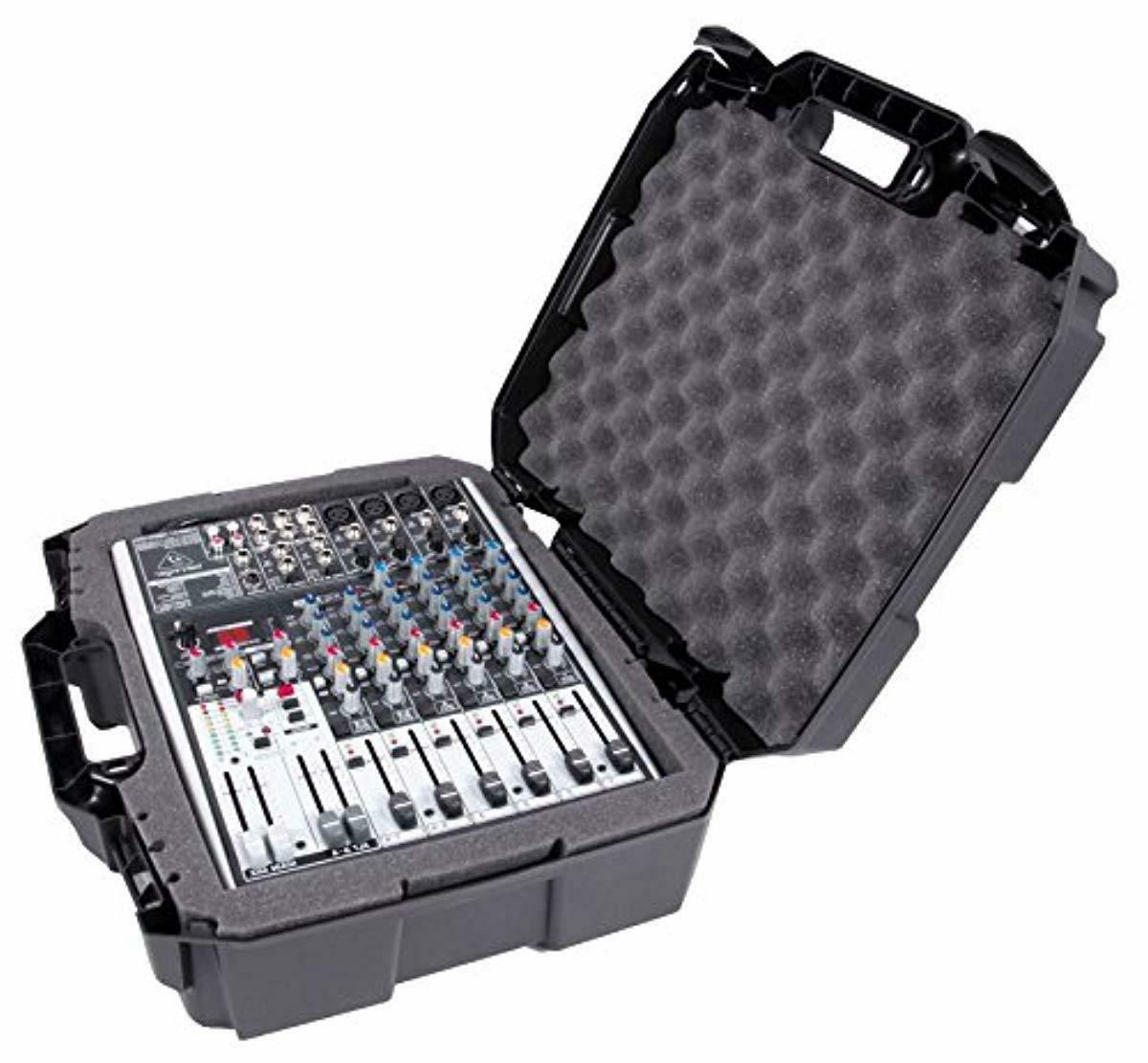 17 inch audio mixer carrying case compatible