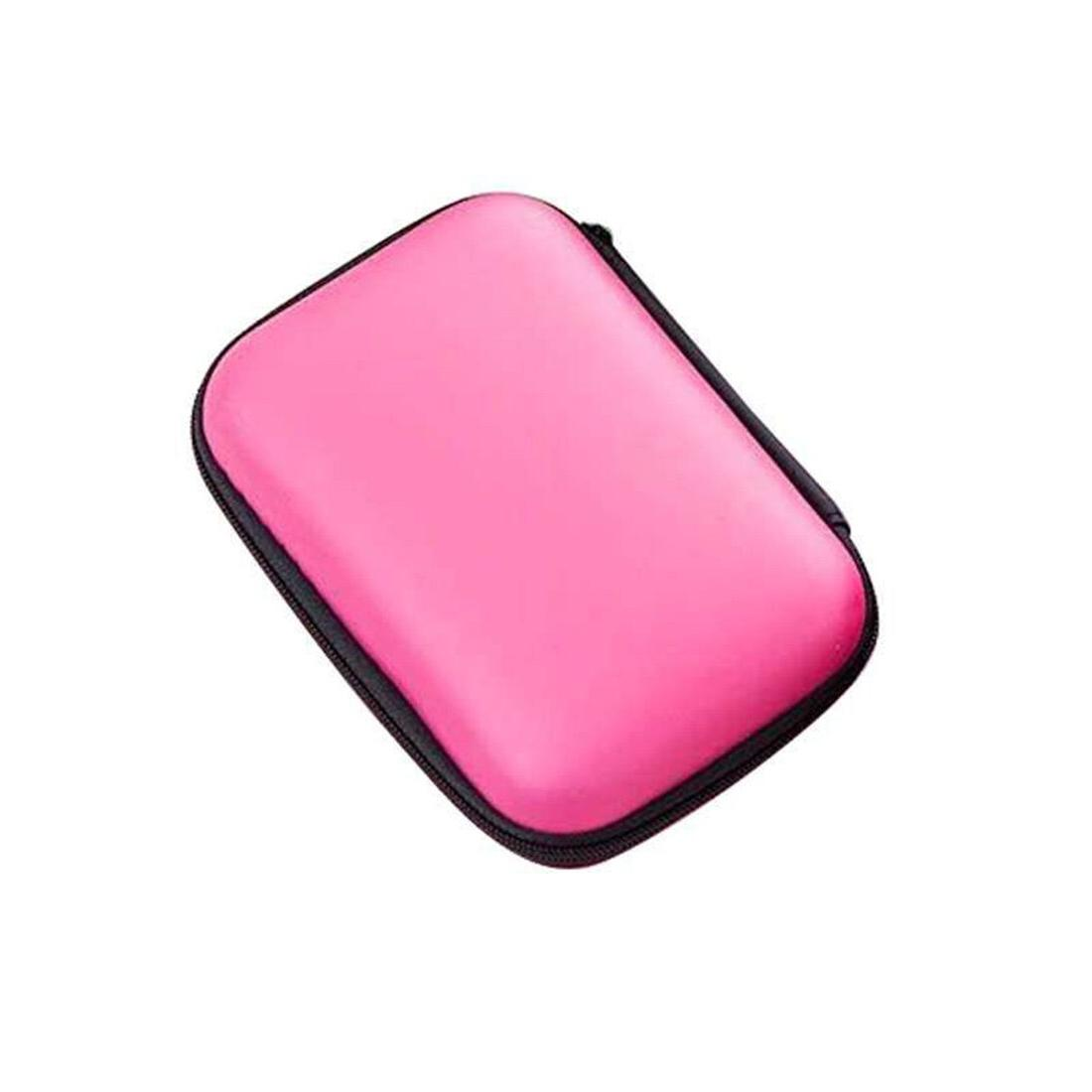 2.5 inch Drive Disk <font><b>Case</b></font> HDD SSD Portable USB Cable Power Bank Box