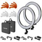 Neewer 2 Packs 18-inch Outer Dimmable SMD LED Ring Light 550