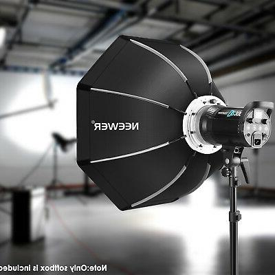 Neewer Foldable Softbox with Speedring, Carrying