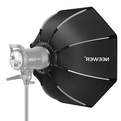 26 foldable octagonal softbox with bowens mount