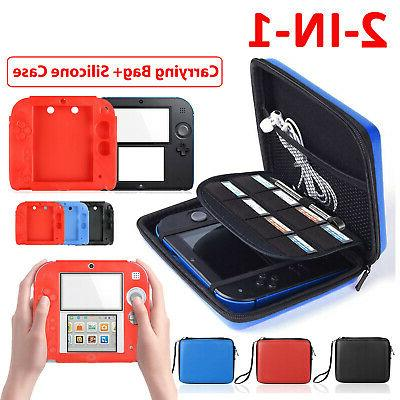 2in1 hard shell carrying eva bag soft