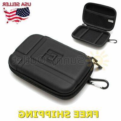 5 inch hard shell carrying case