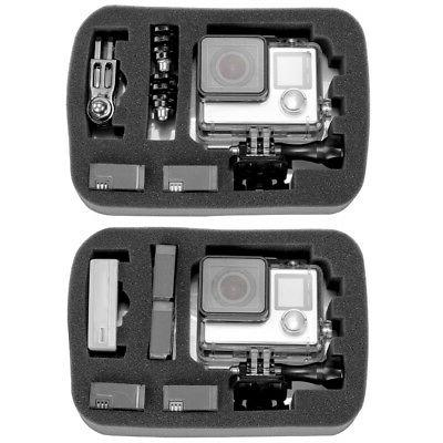 Neewer 7x5.5x3 inches Shockproof Carrying Case GoPro 4 3+