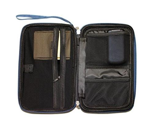 "Caseling Electronics/Accessories Hard Travel Bag, 2.8"" -"