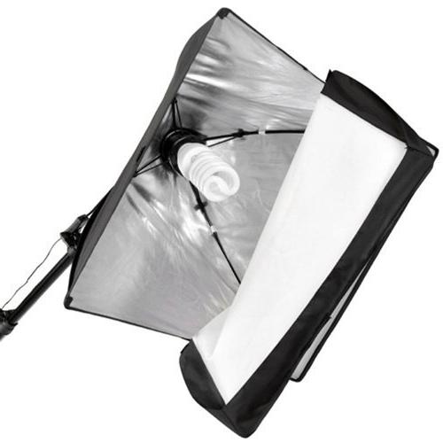 CowboyStudio 2275 Video Continuous Softbox Kit Boom and Carrying Case
