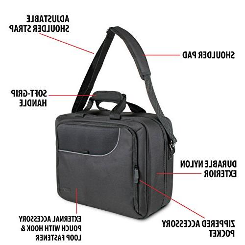 Protective Projector Carrying Case Padded Pouch Shoulder With Epson 1761W , H6510BD and