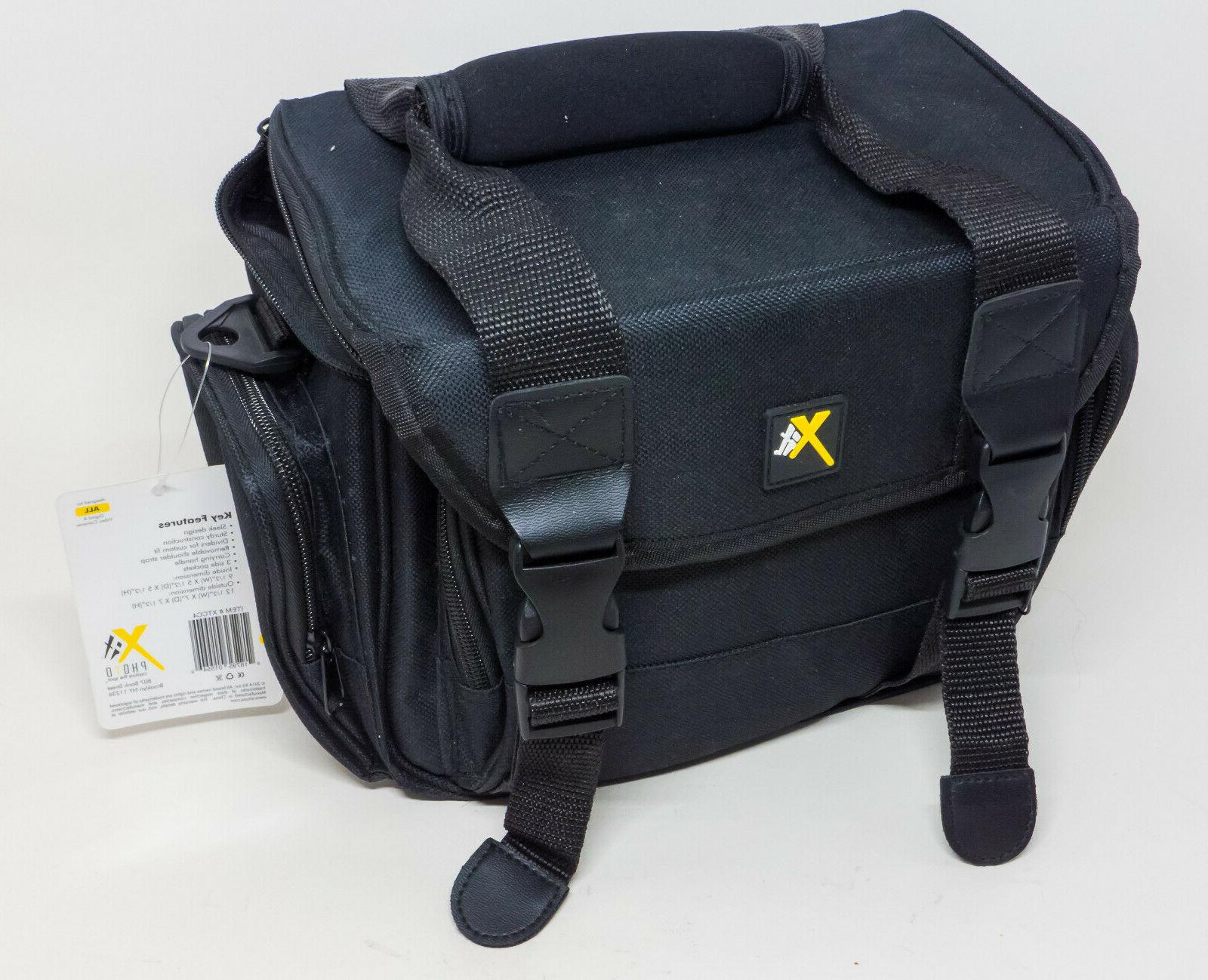 Xit Deluxe Digital Camera/Video Padded Carrying Case