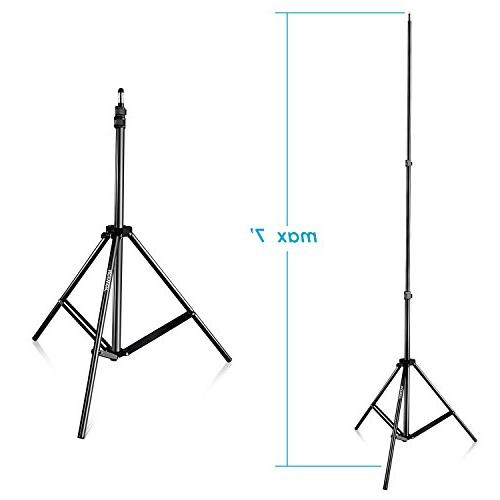 Neewer 28-83 Adjustable Alloy Stands with Case Video, Photography Reflectors, and