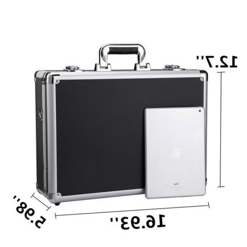 Aluminum Briefcase Case Home Business Toolboxes