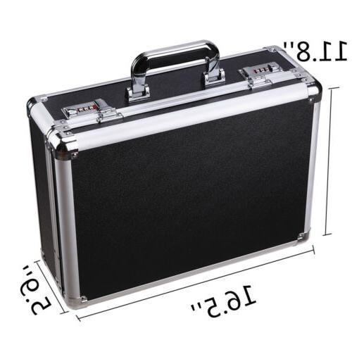Aluminum Hard Briefcase Home Business Toolboxes
