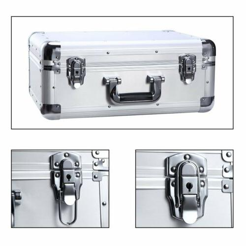 Aluminum Hard Equiment Carrying Case Toolboxes Foam