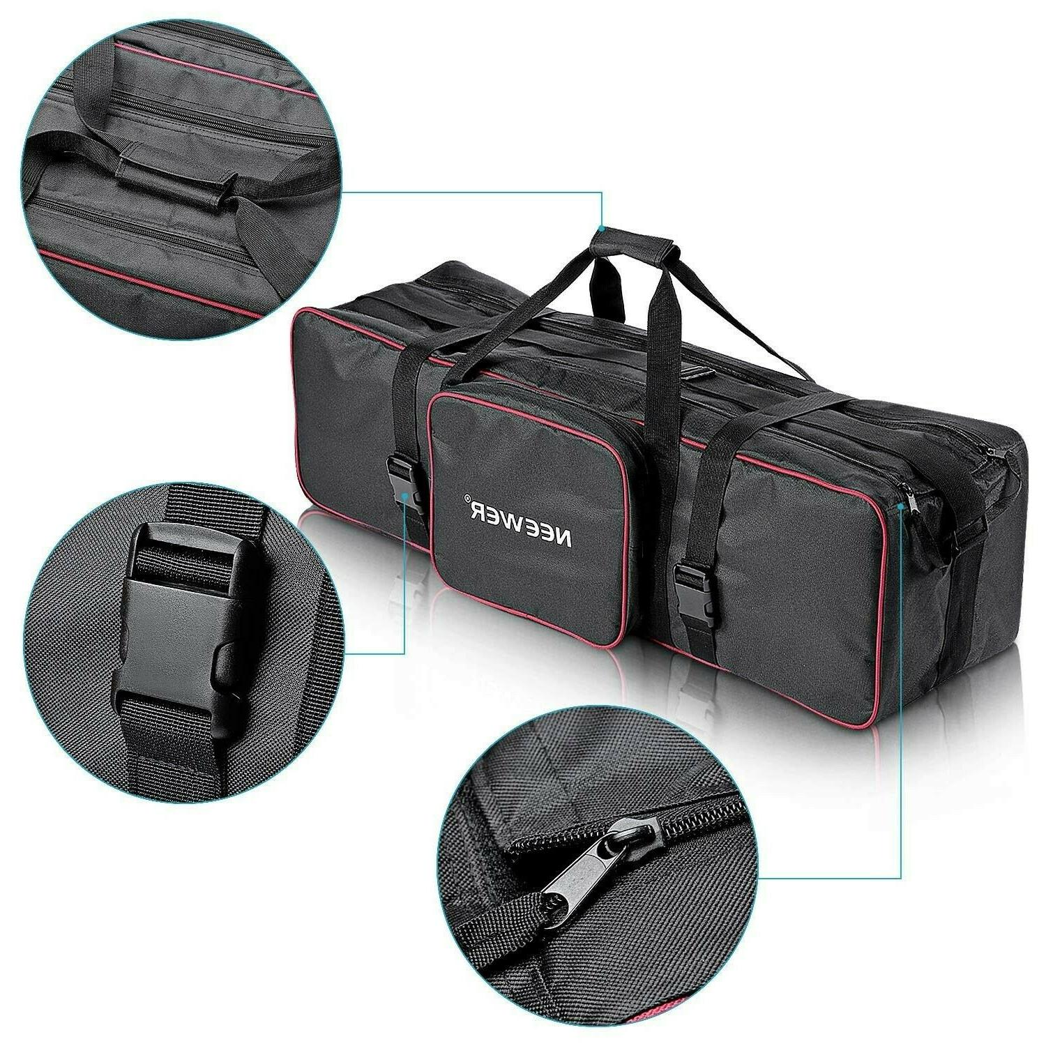 Neewer Bag Carrying Photo Video Boom Light Stand Zippered Case