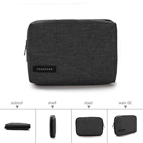 BAGSMART Cable Hard Black