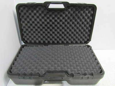 blow molded carrying case with foam padding