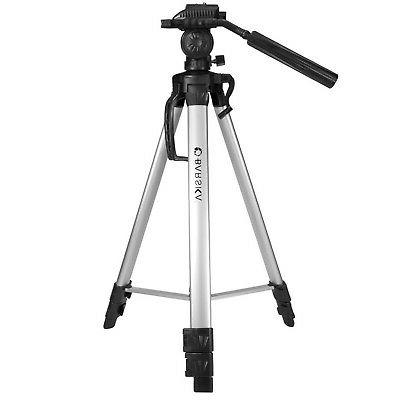 """Brand New BARSKA Deluxe Tripod Extendable to 63.4"""" w/ Carryi"""