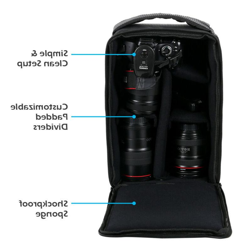 Photography Carry Partition For SLR Canon Nikon Lens