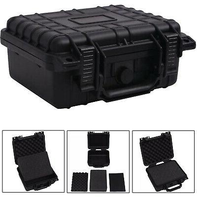 camera case with foam protective equipment hard