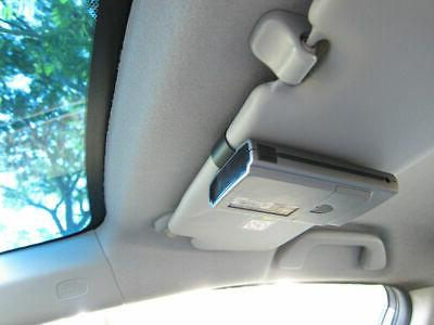 Car Suction+Sun Visor Clip Mount RedLine