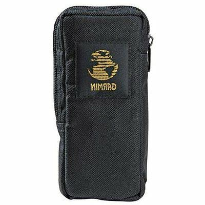 GARMIN Nylon FITS HANDHELDS Carry Black W/Zipper