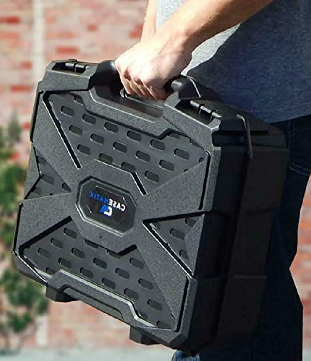 Casematix Carry Case Customizable Foam Oculus Head