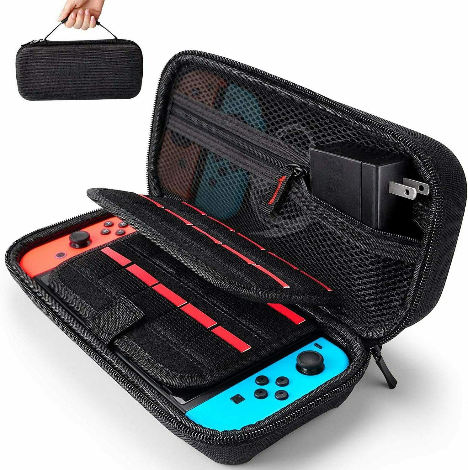 carrying case for nintendo switch with 20