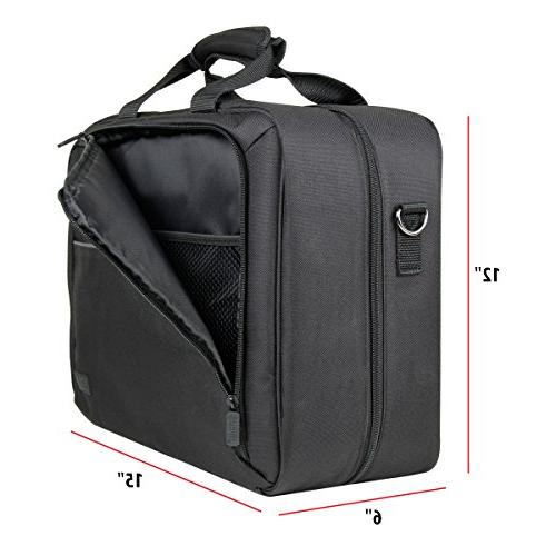 Protective Travel Portable Projector Carrying with Padded Pouch Shoulder Strap With XPE700 , Epson H6510BD and More!