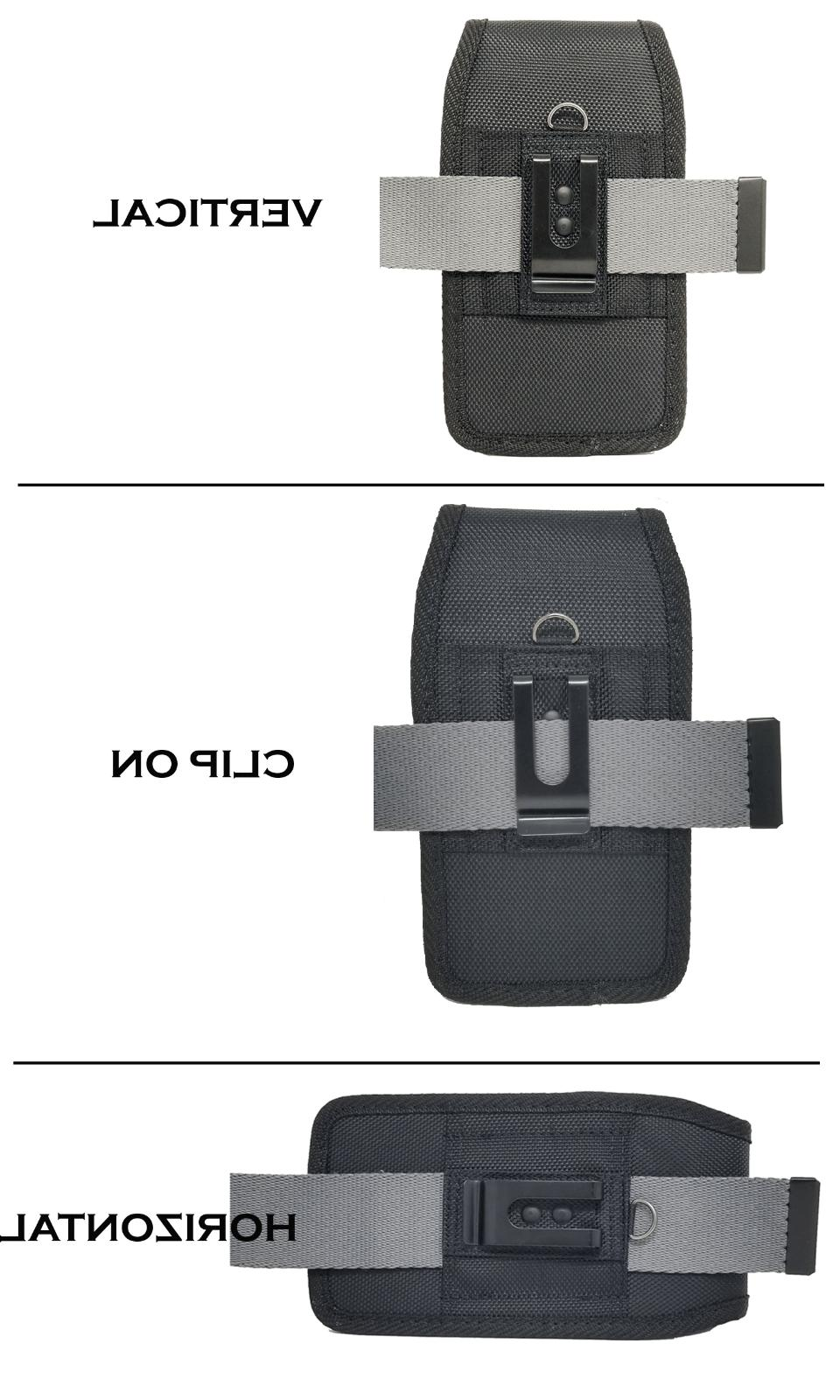 Cell Rugged Carrying w/ Metal Belt Clip