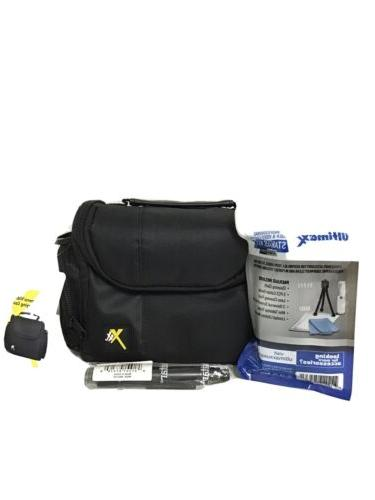 digital camera padded carrying case w extras