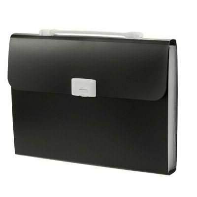expanding file document organizer carrying case