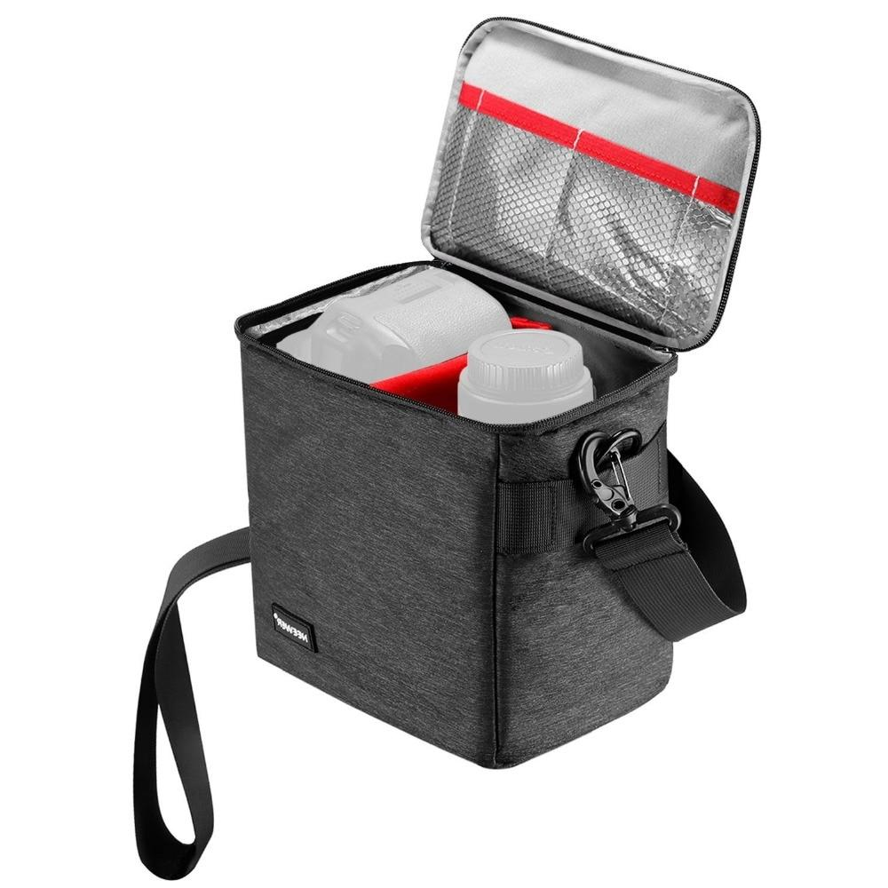 <font><b>bag</b></font> and Lens Storage Carrying Soft Canon Nikon Sony