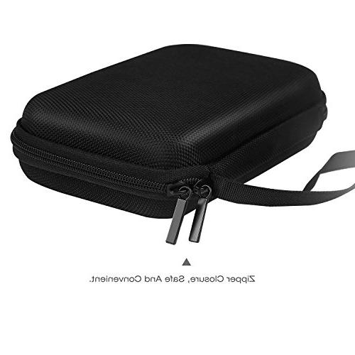 "MoKo GPS Case, Portable Protective Pouch Storage for Car Garmin/Tomtom/Magellan 5"" Display - Black"