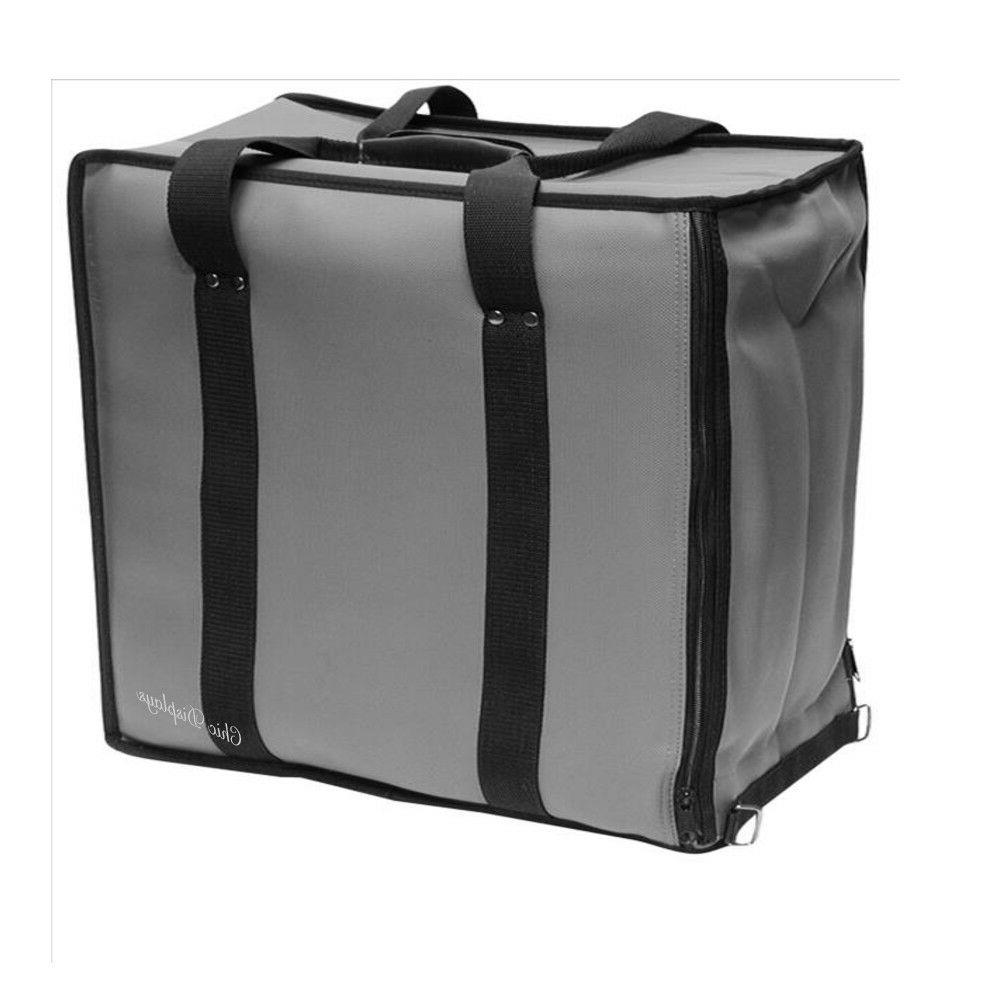 GRAY CARRY CASE JEWELRY CASE TRAVEL CASE SALESMAN CASE SOFT
