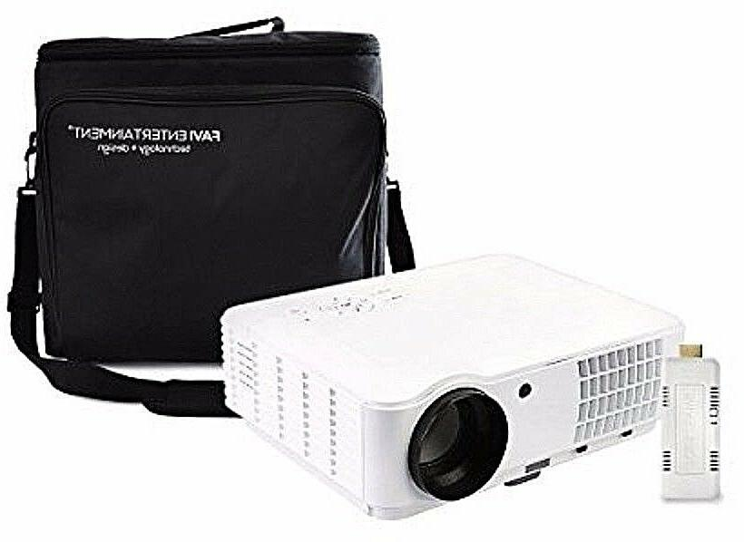 h4w led lcd hd 720p video projector
