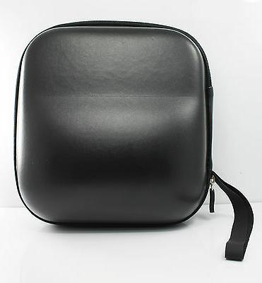 Hard Leather Carrying Case for Headphones Size Headset