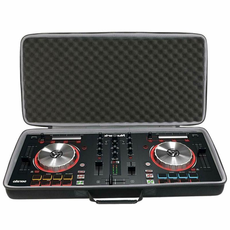hard travel carrying case for numark mixtrack